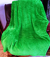 Плед-покрывало зеленый