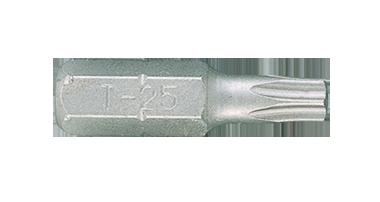 Бита торцевая 1/4' TORX T25 L 25мм KINGTONY 102525T