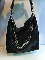 Женская кожаная сумка (Лазер кожа)