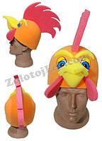 Карнавальная шапка Петуха