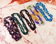 Набор бус из натуральных камней