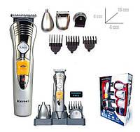 Набор для стрижки волос и бороды 7 в 1 Kemei KM-580A