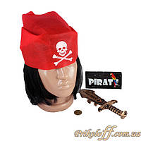 Игрушечный набор «Пират с ножом»