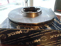 Тормозной диск на Ford Transit 2.4 TDDi. 2000/2006. R16. Диски на передние тормоза Форд Транзит.