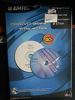 Этикетка creative для CD/DVD дисков 50 labels