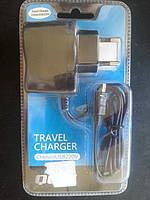 Зарядное устройство mini usb TravelCharger 5V0,45A
