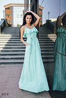 Стильное платье длинное летнее 327 Б