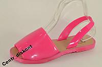 Силиконовые босоножки розовый PINK 36р