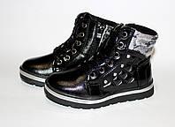 Демисезонная детская обувь. Ботинки для девочек от фирмы GFB