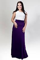 Платье женское больших размеров батал 1515 Ян   $