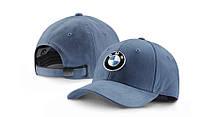 Бейсболка BMW Logo Cap, Steel Blue, артикул 80162411102