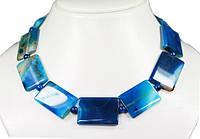 Роскошное ожерелье из африканских агатов