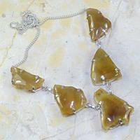 Ожерелье из резных агатовых друз