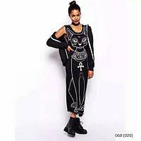 Платье длинное кошка 060 (020)