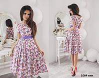 Платье миди женское 1064 нин