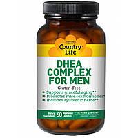 Комплекс ДГЭА (дегидроэпиандростерона) для мужчин DHEA complex for men (60 капс.) Country Life
