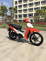 Электроскутер Leopard (бело-оранжевый) UGBEST (Китай)