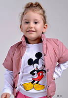 Детская жилетка на девочку 68 ев