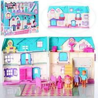 Кукольный дом 1205CD с куклами,мебелью