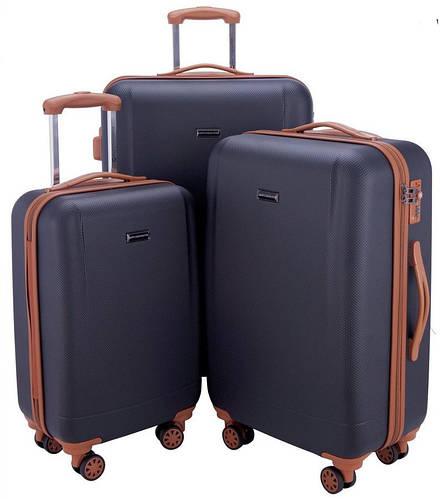Отличный дорожный набор чемоданов 94 л., 63 л., 38 л. HAUPTSTADTKOFFER WANNSEE set dark blue темно синий