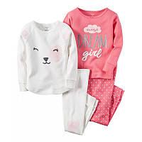 Пижама детская Carter's 2т Картерс для девочки