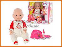 Пупс кукла Baby Born Бейби Борн BB 8001-6 (Зима) в зимней одежде