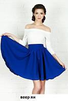 Платье женское клеш Веер ян