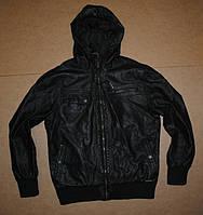 Crafted мужская кожанная куртка,кожанка