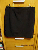 Строгая черная юбка на 14-16р 48-50 можно в школу