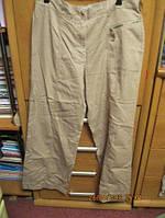 Бренд CASUAL WEAR штаны брюки 14 48 M бежевые шик