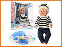 """Кукла в полосатом свитере Baby Born """"Малятко"""", BL013C-UA"""