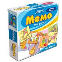 Настольная игра-мемо Игрушки, Granna (10701)