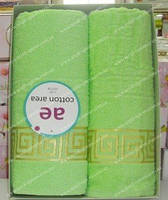 Набор махровых полотенец (Турция)