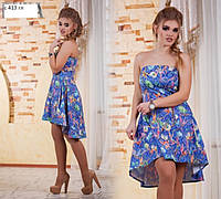 Платье молодежное женское С 413 гл