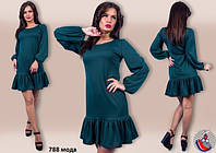 Женское стильное платье 788 мода