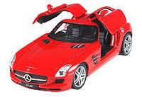 Машинка на радиоуправлении 1:24 Meizhi лиценз. Mercedes-Benz SLS AMG металлическая (красный)