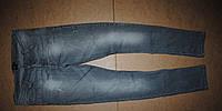 Asos крутые джинсы фабричные потертости w32 L 32