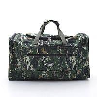 """Стильная дорожная сумка в стиле хаки-камуфляж """"Тундра"""". Вместительная, практичная, недорогая сумка. Код: КБН32"""