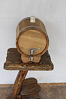 Жбан дубовый для напитков 10 литров