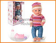 Пупс кукла Baby Born Бейби Борн YL1710C-S Маленькая Ляля новорожденный с аксессуарами