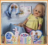 Пупс кукла Baby Born Бейби Борн 807866-1 с аксессуарами