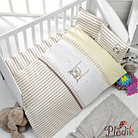 Детское постельное белье в кроватку 100х150 LP с вышивкой BEAR
