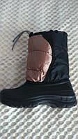 Дутики (Зимние ботинки) с шнурком детские зимние TISMEL