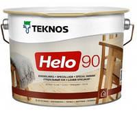 Лак для дерева яхтный универсальный уретан-алкидный высокоглянцевый TEKNOS HELO 90  0,9