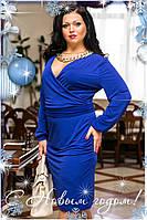 Платье женское больших размеров 1001 ш $