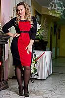 Платье женское больших размеров батал 385.1 гл  $