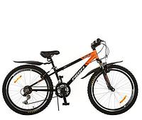 Велосипед подростковый 24 дюйма PROFI - MODE XM242  на алюминиевой раме