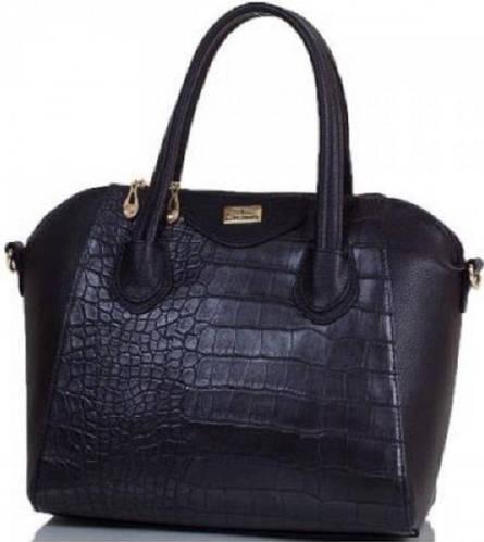 Деловая женская сумка из искусственной кожи ETERNO (ЭТЕРНО) ETMS35255-2 черный