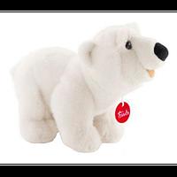 Мягкая игрушка Trudi Полярный медведь Пласидо стоячий 26 см