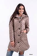 Женская стеганная куртка Зима 553 кэт